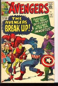 The Avengers #10 (1964)