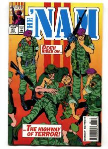 The 'Nam #83-Hard to find late issue-Low Print Run-Marvel VF