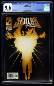 Sentry #1 CGC NM+ 9.6 White Pages 1st Sentry!