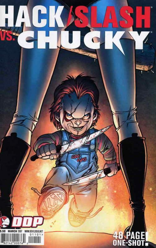 Hack/Slash vs. Chucky #1A VF/NM; Devil's Due | save on shipping - details inside