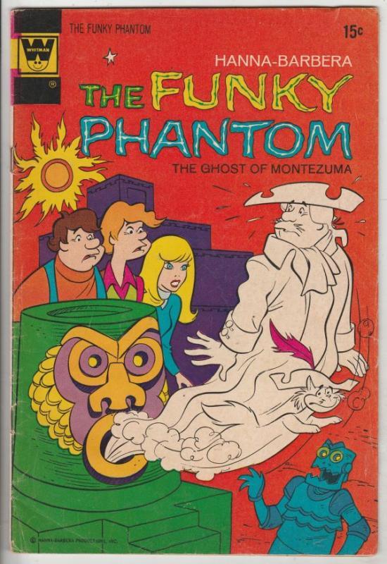 Funky Phantom, Hanna-Barbera the  #3 (Jan-72) GD- Mid-High-Grade The Funky Ph...
