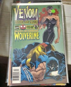 VENOM-TOOTH AND NAIL #2  1996 marvel  MINI SERIES  WOLVERINE SPIDER MAN