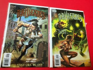 BATTLEAXES #'s 2&3 2000, VERTIGO / DIRECT SALES , HIGH QUALITY
