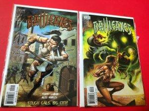 BATTLEAXES #'s 2&3 2000, VERTIGO / DIRECT SALES , HIGH QUALITY