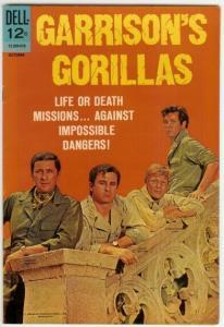 GARRISONS GORILLAS (1968-1969 DELL) 4 VF PHOTOCOVER : C COMICS BOOK