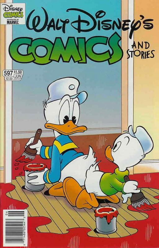 Walt Disney's Comics and Stories #597 VF/NM; Dell | save on shipping - details i
