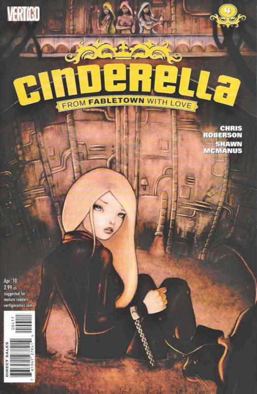 Cinderella: From Fabletown With Love #4 VF/NM; DC/Vertigo | save on shipping - d