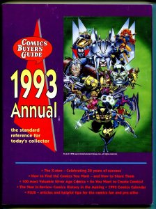 Comics Buyer's Guide Annual 1993-X-Men-Marvel vs DC-1993 comics calendar-VG/FN