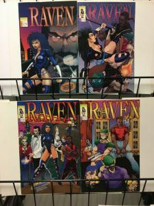 RAVEN (1993 RENAISSANCE) 1-4  complete series!