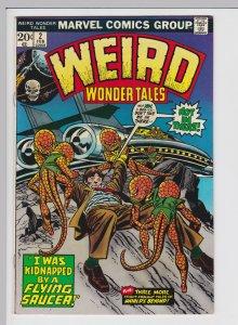 Weird Wonder Tales #2 (Feb 1973) 7.0 FN/VF Marvel Horror