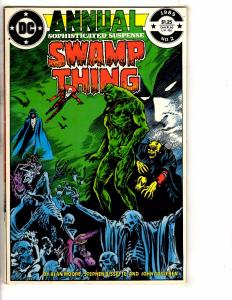 Swamp Thing Annual # 2 VF DC Comic Book Justice League Dark Deadman Demon NP6