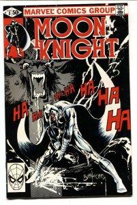 Moon Knight #8 1981-Bill Sienkiewicz-comic book VF/NM