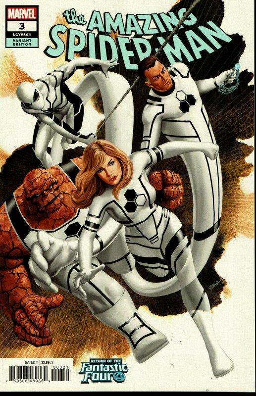 Amazing Spider-Man #3 - NM - Variant Cover