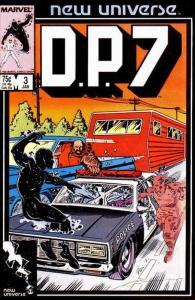 D.P.7 #3 VF/NM; Marvel | save on shipping - details inside
