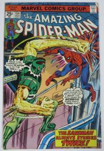 AMAZING SPIDER-MAN  #154 (Marvel,3/1976) VERY GOOD Sandman! Wein & Sal Buscema