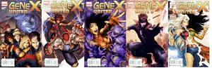 GENEXT UNITED (2009) 1-5  the COMPLETE series!