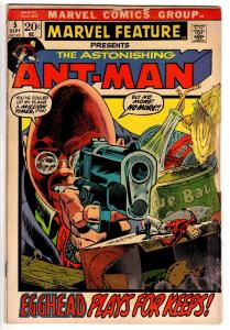 MARVEL FEATURE (1971) 5 GOOD ANTMAN! Sept. 1972