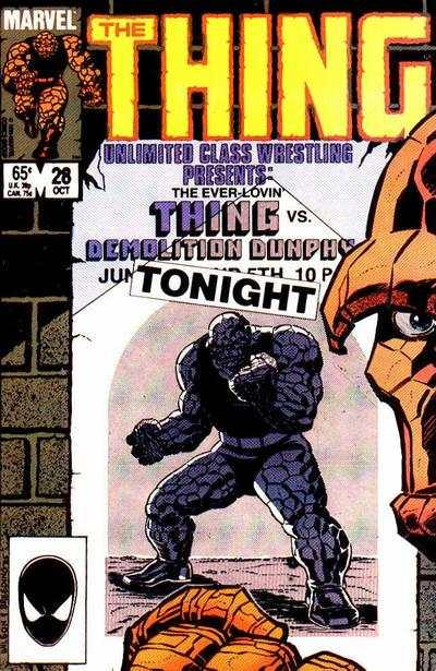 Thing (1983 series) #28, VF+ (Stock photo)