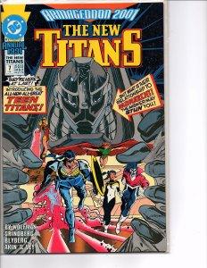 DC Comics New Titans Annual #7 Armageddon 2001 1st App. Team Titans