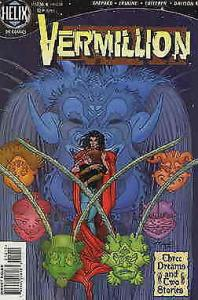 Vermillion #12A VF; DC/Helix | recalled edition - latin letters page