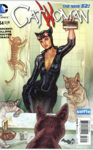 Catwoman 34 Selfie Variant Cover  9.0 or better (our highest grade)