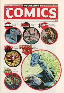 DC Wednesday Comics Weekly Newspaper #7
