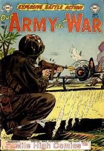 OUR ARMY AT WAR (1952 Series) #16 Very Good Comics Book