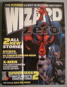 SPIDER-MAN & BATMAN WIZARD Promo poster, 19x25, Unused, more Promos in store