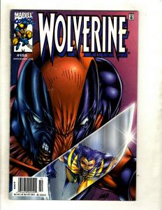 Wolverine # 155 VF 1st Print Marvel Comic Book Deadpool X-Men X-Force Cable HY1