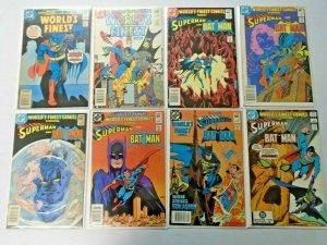 World's Finest Superman Batman lot #283-322 35 diff avg 5.0 range (1982)