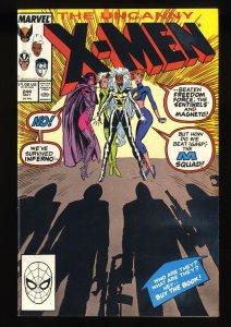 Uncanny X-Men  #244 VF/NM 9.0 1st Jubilee!