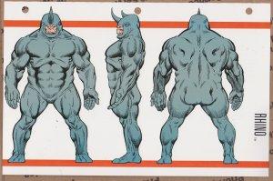 Official Handbook of the Marvel Universe Sheet - Rhino