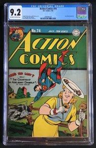 Action Comics #74 (1944)
