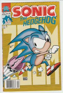 Sonic the Hedgehog #2 (Apr-93) NM High-Grade Sonic the Hedgehog