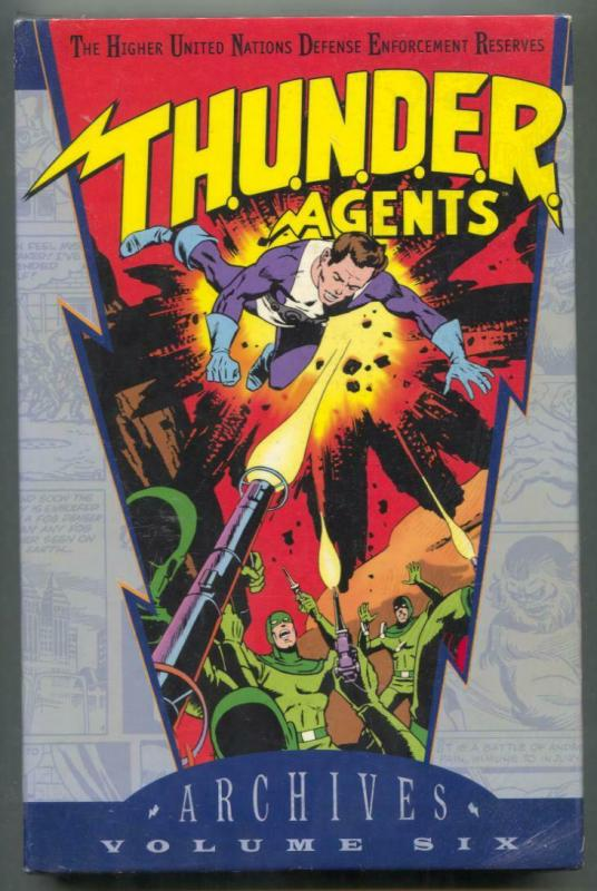 THUNDER Agents Archive Edition volume 6 hardcover