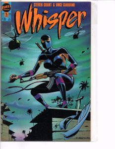 First Comics Whisper #35 & 36 NM Steven Grant