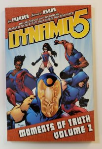 DYNAMO 5 VOL.2 MOMENTS OF TRUTH TPB SOFT COVER FIRST PRINT NM