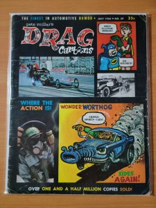 Drag Cartoons Car Magazine #29 ~ VERY GOOD VG ~ July 1966