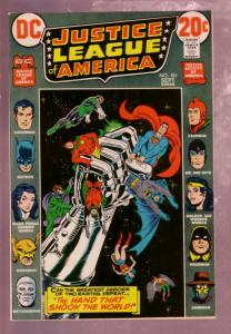 JUSTICE LEAGUE OF AMERICA #101 1972 JUSTICE SOCIETY ISS VF/NM