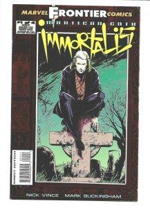 Mortigan Goth: Immortalia #1 Marvel 1993 VF/NM 9.0 red foil cover.