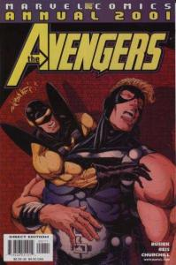 Avengers (1998 series) Annual #2001, VF- (Stock photo)
