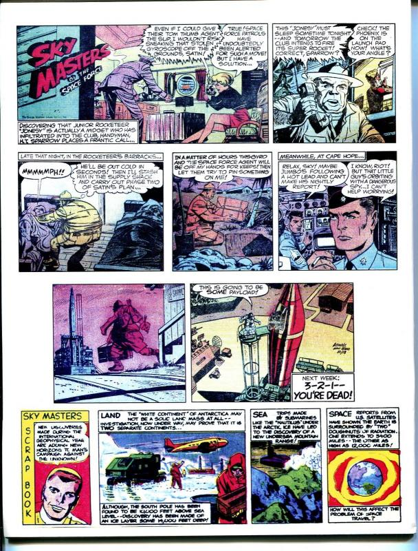 Comics Revue #173 2000-Jack Kirby-Sky Masters-Phantom-Modesty Blaise-Tarzan-VF