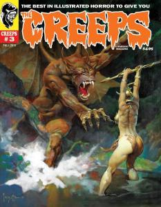 THE CREEPS, NEW!  SET OF #1 - #12 MAGAZINES, CREEPY EERIE STORIES & ART