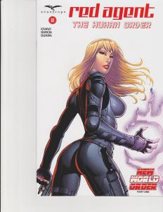 Red Agent Human Order #8 Cover D Zenescope Comic GFT NM Rei