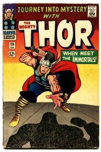 Journey Into Mystery #125 comic book 1966-comic book thor-marvel-jack kirby