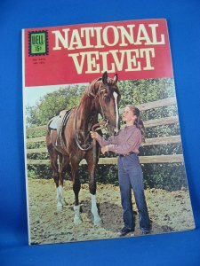 Four Color 1312 NATIONAL VELVET Photo Cover VF NM 1962