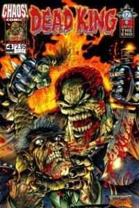 Dead King: Burnt #4, NM + (Stock photo)