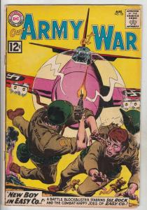 Our Army at War #121 (Aug-62) FN Mid-Grade Sgt. Rock and Easy Company