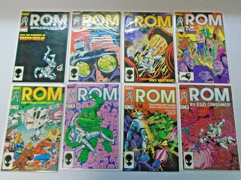 ROM Comic Lot Near Set #1-75 + Annual #1-3 73 Different Average 7.0 (1979-1984)
