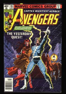 Avengers #185 VF+ 8.5 Origin of Quicksilver and Scarlet Witch!